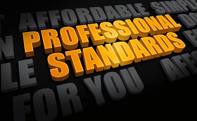 USDA Professional Standards